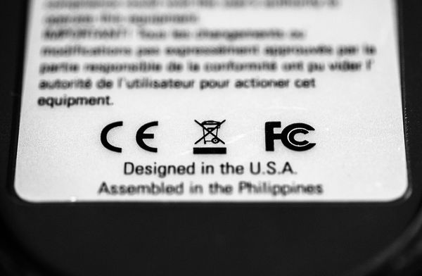 FCC and CE label