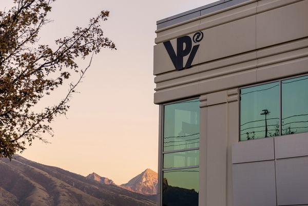 VPI main office, Mount Timpanogos in background